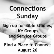 Connections Sunday 2018