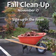 Fall Grounds Clean-Up